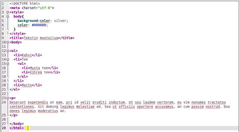 HTML_Lista_koodi
